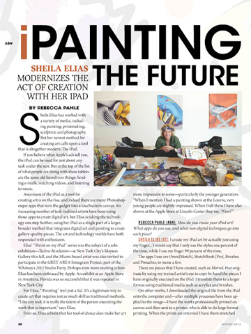 iPainting the Future